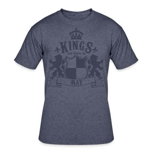 Kings are born in May - Men's 50/50 T-Shirt