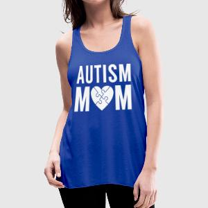 Autism Mom - Women's Flowy Tank Top by Bella