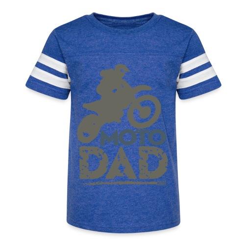 Motocross Father - Kid's Vintage Sport T-Shirt