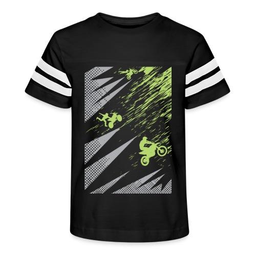 Motocross Apparel - Kid's Vintage Sport T-Shirt