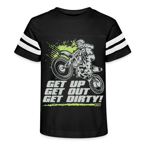Motocross Dirty - Kid's Vintage Sport T-Shirt