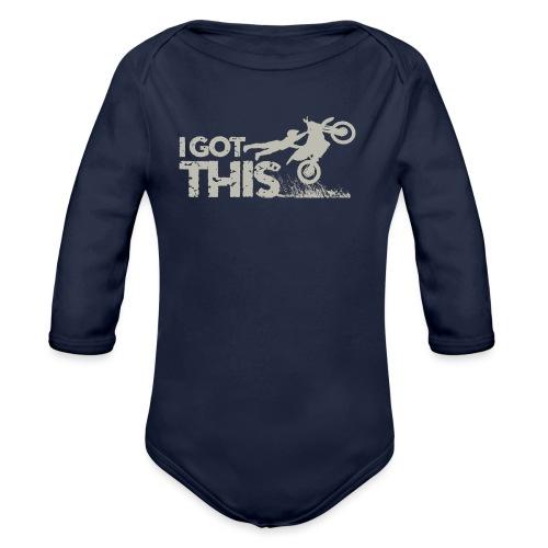 Motocross I Got This - Organic Long Sleeve Baby Bodysuit