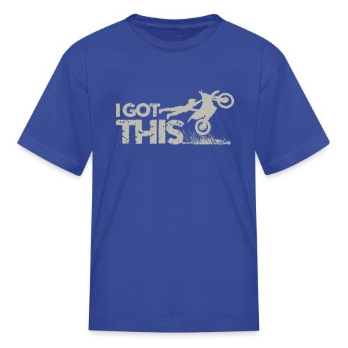 Motocross I Got This - Kids' T-Shirt