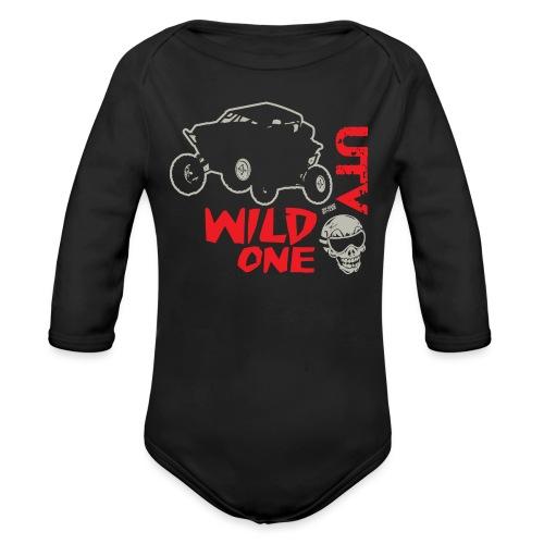 UTV SxS Wild One - Organic Long Sleeve Baby Bodysuit