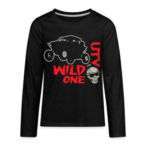 UTV SxS Wild One - Kids' Premium Long Sleeve T-Shirt