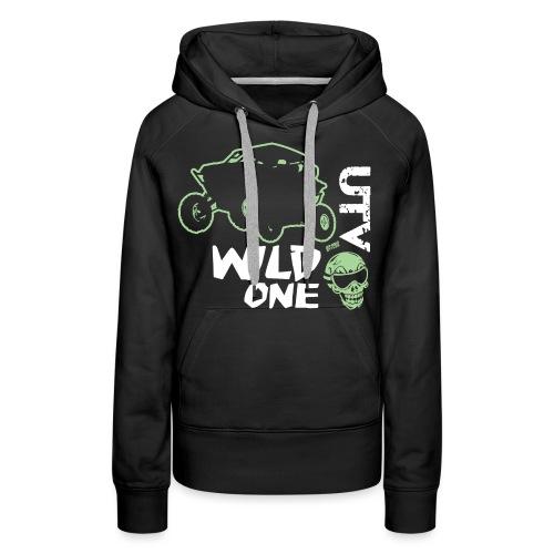 UTV SxS Wild One - Women's Premium Hoodie