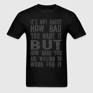 Push yourself - Men's T-Shirt