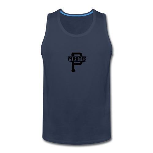 Pirate P Logo Screenprint - Men's Premium Tank