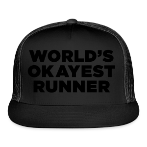 World's Okayest Runner - Trucker Cap