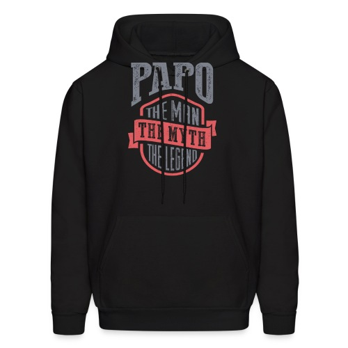 Papo The Man The Myth | T-shirt Gift! - Men's Hoodie