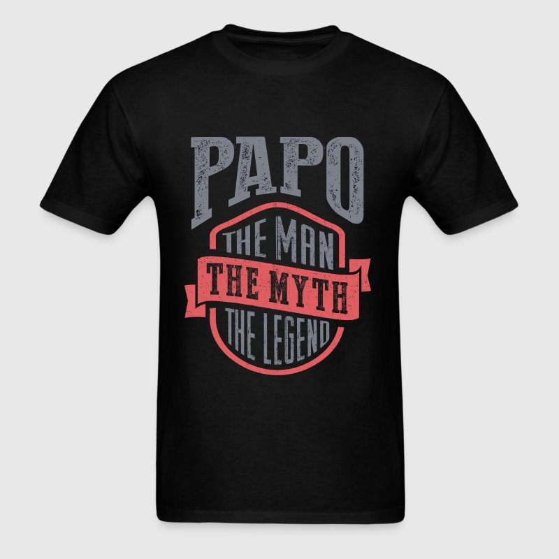 Papo The Man The Myth | T-shirt Gift! - Men's T-Shirt