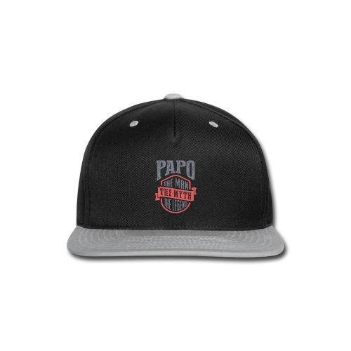 Papo The Man The Myth | T-shirt Gift! - Snap-back Baseball Cap