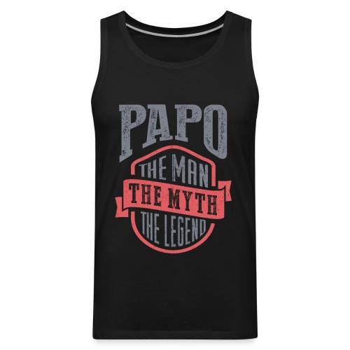 Papo The Man The Myth   T-shirt Gift! - Men's Premium Tank