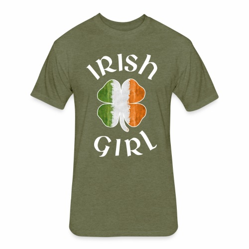 IRISH GIRL - Fitted Cotton/Poly T-Shirt by Next Level
