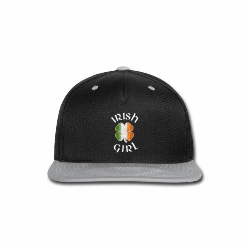 IRISH GIRL - Snap-back Baseball Cap