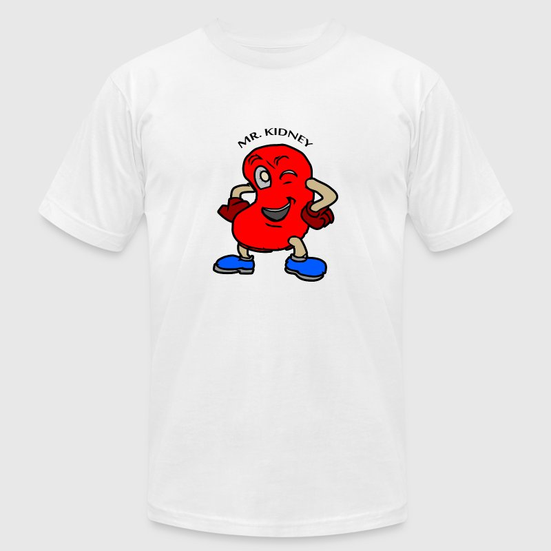 Mr. Kidney - World Kidney Day - Men's T-Shirt by American Apparel