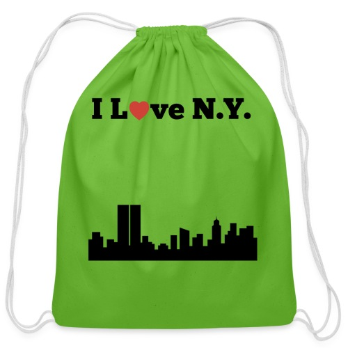 I love N.Y. - Cotton Drawstring Bag