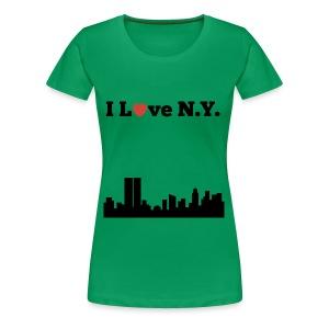 I love N.Y. - Women's Premium T-Shirt