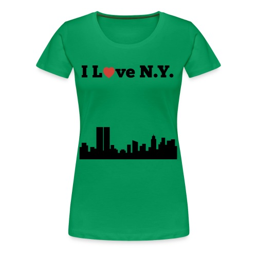 I love N.Y. - Women's Premium T-Shirt