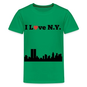 I love N.Y. - Kids' Premium T-Shirt