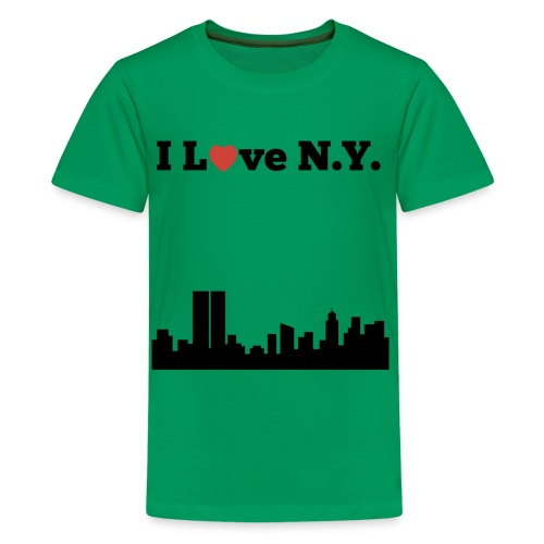 I love N.Y. - Kids' Premium T-Shirt