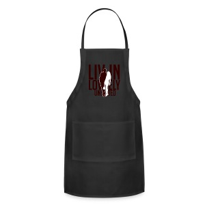 Livin Lovely United's Unisex Tri -Blend T-Shirt - Adjustable Apron