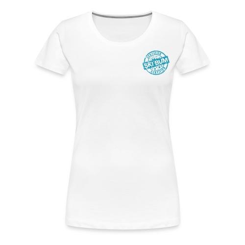 Certified Ski Bum Tee - Women's Premium T-Shirt