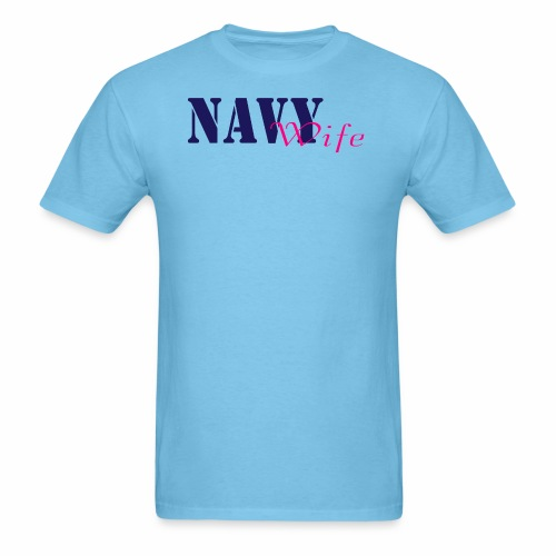 Navy Wife - Men's T-Shirt
