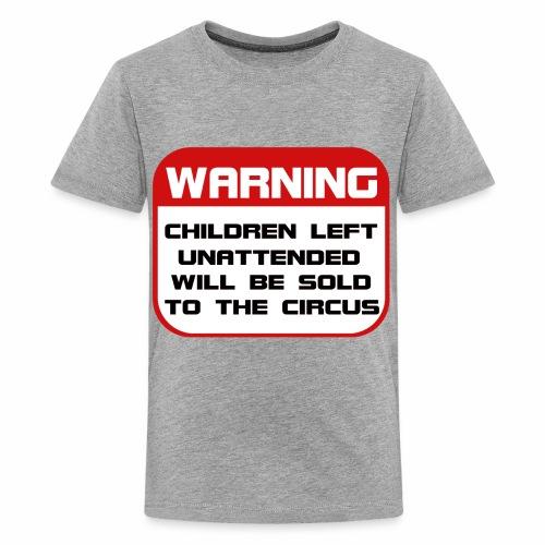 Children Sold to Circus - Kids' Premium T-Shirt