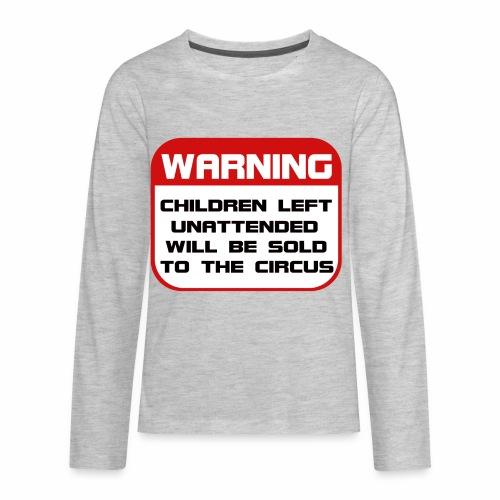 Children Sold to Circus - Kids' Premium Long Sleeve T-Shirt
