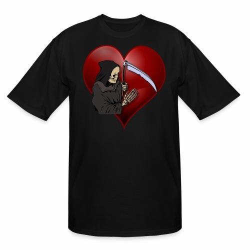 Grim Reaper Valentine - Men's Tall T-Shirt
