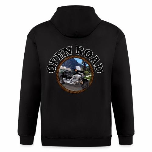 Open Road - Men's Zip Hoodie