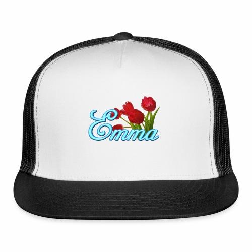 Emma With Tulips - Trucker Cap