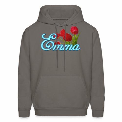 Emma With Tulips - Men's Hoodie