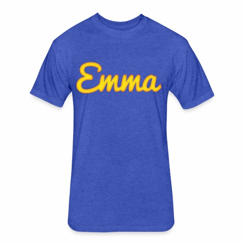 Emma - Fitted Cotton/Poly T-Shirt by Next Level