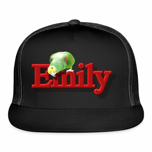Emily With a Parrot  - Trucker Cap