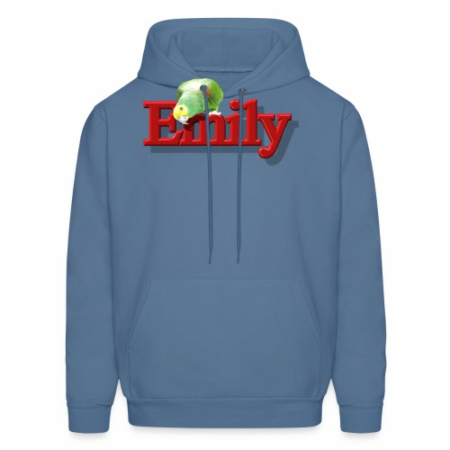 Emily With a Parrot  - Men's Hoodie