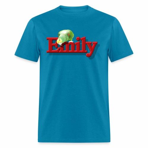 Emily With a Parrot  - Men's T-Shirt