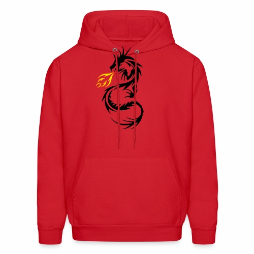 Dragon Flames - Men's Hoodie