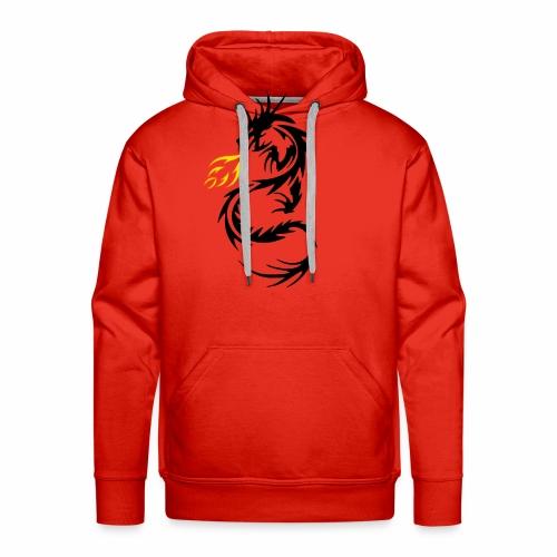 Dragon Flames - Men's Premium Hoodie