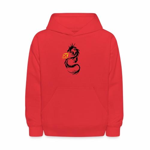 Dragon Flames - Kids' Hoodie