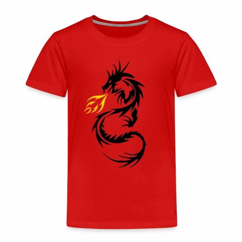 Dragon Flames - Toddler Premium T-Shirt