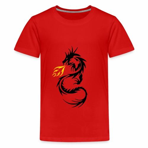 Dragon Flames - Kids' Premium T-Shirt
