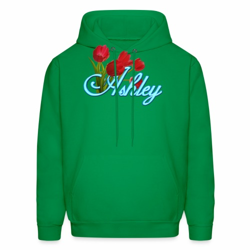 Ashley With Tulips - Men's Hoodie