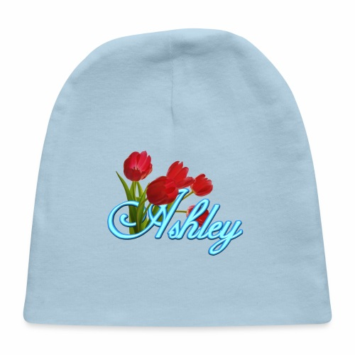Ashley With Tulips - Baby Cap