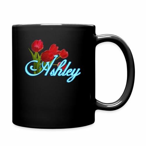 Ashley With Tulips - Full Color Mug