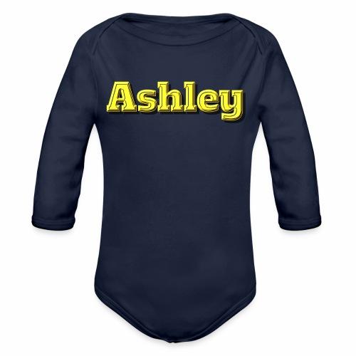 Ashley - Organic Long Sleeve Baby Bodysuit
