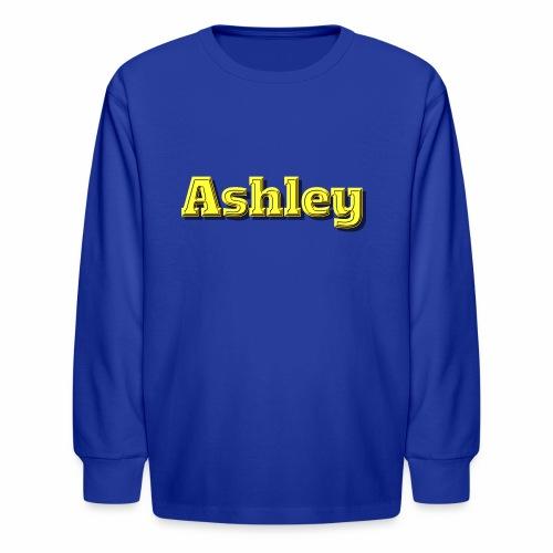 Ashley - Kids' Long Sleeve T-Shirt