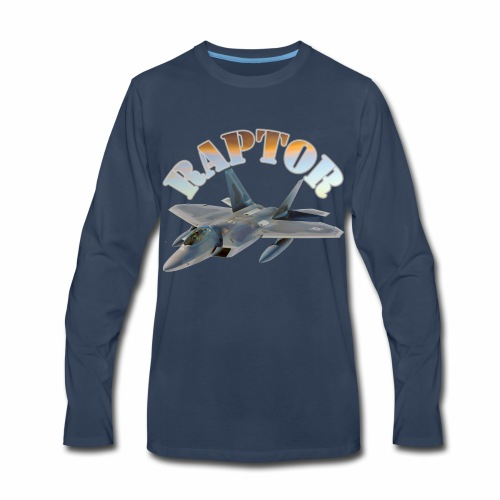 Raptor - Men's Premium Long Sleeve T-Shirt