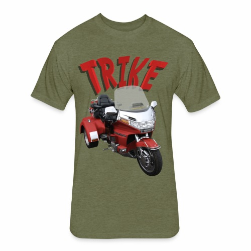 Trike - Fitted Cotton/Poly T-Shirt by Next Level
